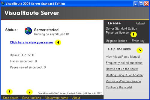 VisualRoute Manual - Advanced Features
