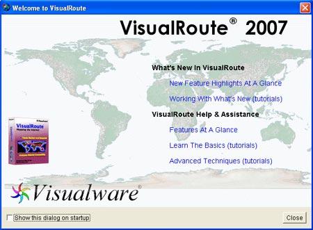 برنامج تحديد الشخص المتحدث المسنجر بالصور Visual Route